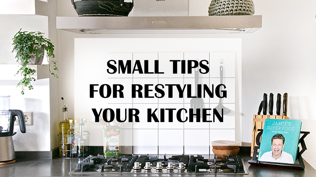 Smaal tips for restyling your kitchen